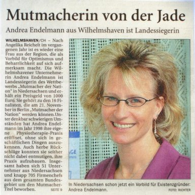 Mutmacherin der Nation 2006